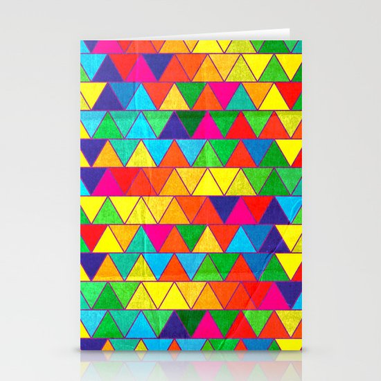 Technicoloured Dreams Stationery Cards