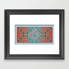 Dragon Garden Framed Art Print