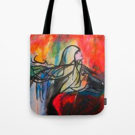 Chasing The Rain  #society6 #decor #buyart Tote Bag