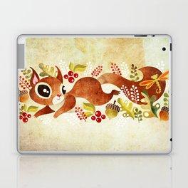 Playful Squirrel Laptop & iPad Skin
