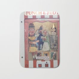 Punch And Judy On Tour Bath Mat