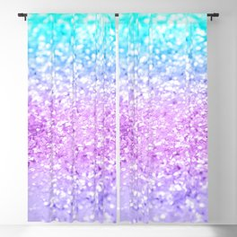 Unicorn Girls Glitter #9 #shiny #decor #art #society6 Blackout Curtain