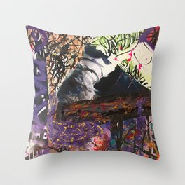 Doll Play Throw Pillow