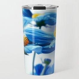 Cosmea blue 224 Travel Mug