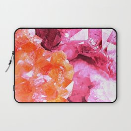 Crystal Abstract Laptop Sleeve