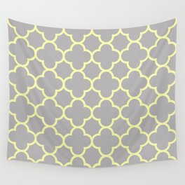 MOROCCAN {YELLOW/GRAY}  Wall Tapestry