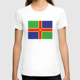 Lincolnshire region flag united kingdom great britain T-shirt