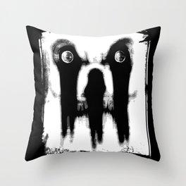 Sir Blackheart Throw Pillow