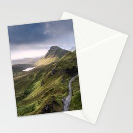 The Road to the Quiraing IV Stationery Cards