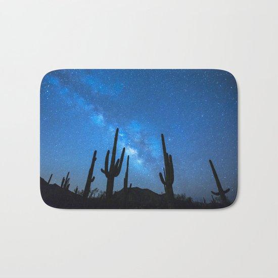 Cacti Milky Way Bath Mat