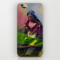 native american iPhone & iPod Skins featuring Native American by Owen Addicott