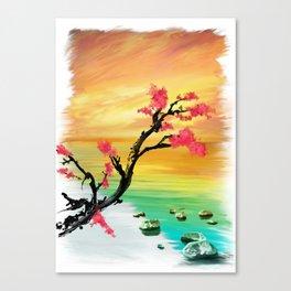 Tokyo Sunrise Canvas Print