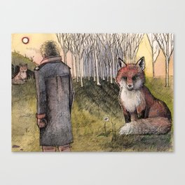 "Le Petit Prince ""Tame"" Canvas Print"