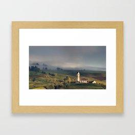 Swiss Vineyards 2 Framed Art Print