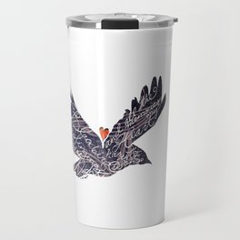 Blackbird singing in the dead of night, and all the memories my heart has for that song. Travel Mug