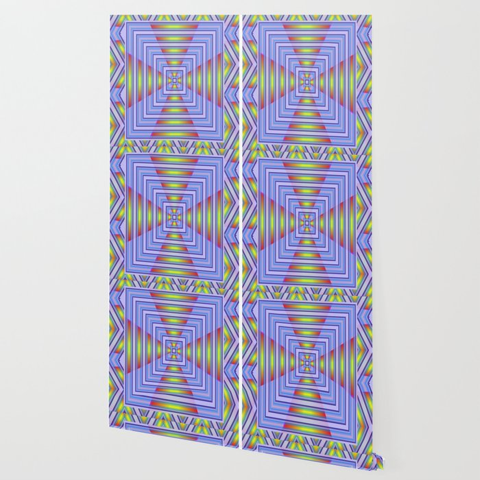 *Blue Heavens Doorway* Wallpaper