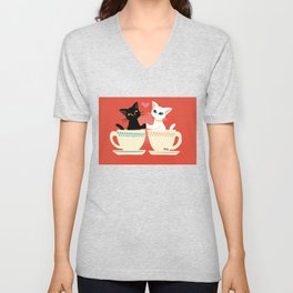 Pair cup Unisex V-Neck