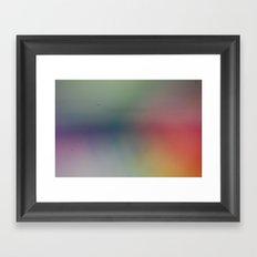 Abstract Pastels Framed Art Print
