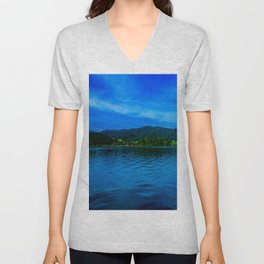 Bavaria Lake Schliersee Unisex V-Neck