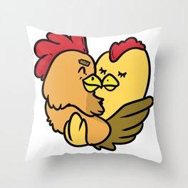 hug hug me to hug love gift to press to cuddle Throw Pillow