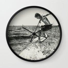 Skimboarder Life Wall Clock