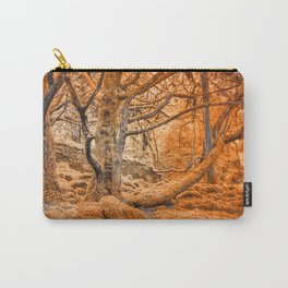 Glowing Amber Forest Carry-All Pouch