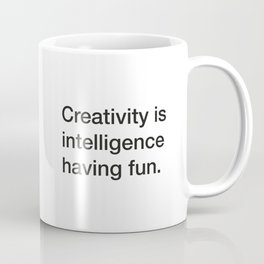 Stephen Hawking quote about stars [White Edition] Coffee Mug