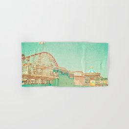 Santa Cruz Boardwalk Hand & Bath Towel