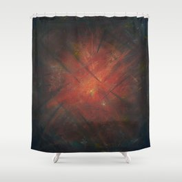 By the Campfire Shower Curtain