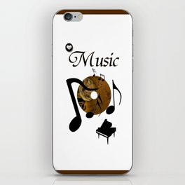 His Master's voice iPhone Skin