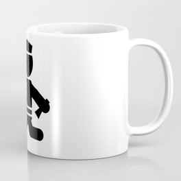 Police Stickman Coffee Mug