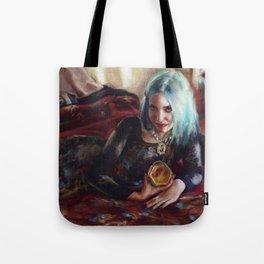 Skin of the Night Tote Bag