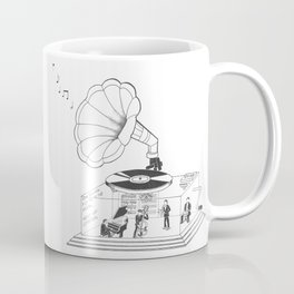 How does a Gramophone actually work? Coffee Mug