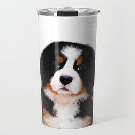 Bernese mountain dog puppy Travel Mug