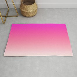 Pink Rose colors ombre abstract pattern  Rug