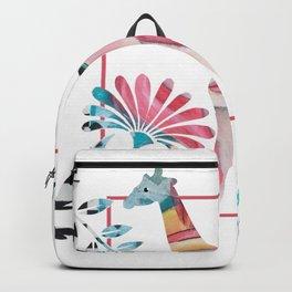 Whimsical Giraffe Backpack