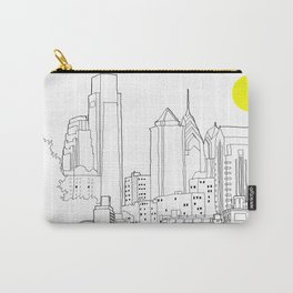 Philly Blueprint BW Carry-All Pouch