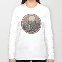 philadelphia Long Sleeve T-shirts featuring philadelphia by Bekim ART