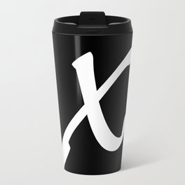 ALPHABET ....X Travel Mug