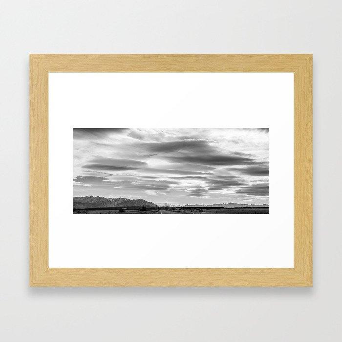 Mackenzie Skies Vista Framed Art Print