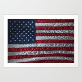 United States of America Flag Art Print