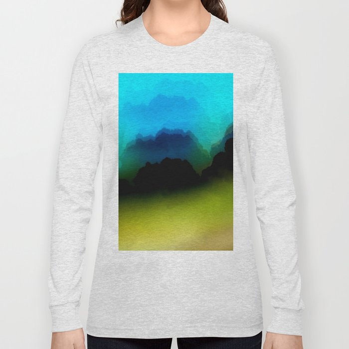 Misty Mountain View Long Sleeve T-shirt