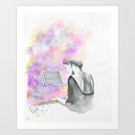 The Unwritten Song Art Print