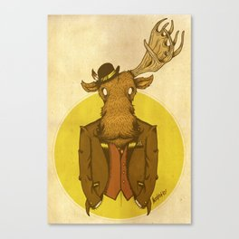 {Bosque Animal} Alce Canvas Print