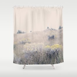 August Gold Shower Curtain