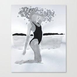 Model03 Canvas Print
