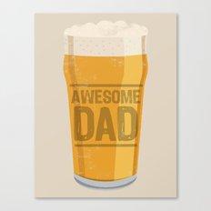 DAD Canvas Print