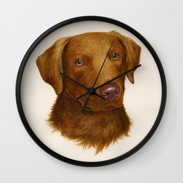 Chesapeake Bay Retriever Wall Clock