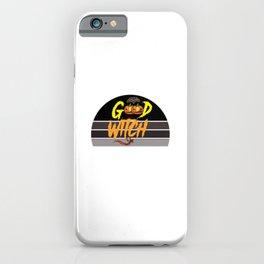 Good Witch Retro Sunset Black Sky iPhone Case