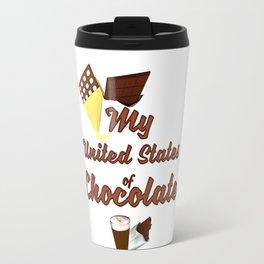 My United States of Chocolate Travel Mug